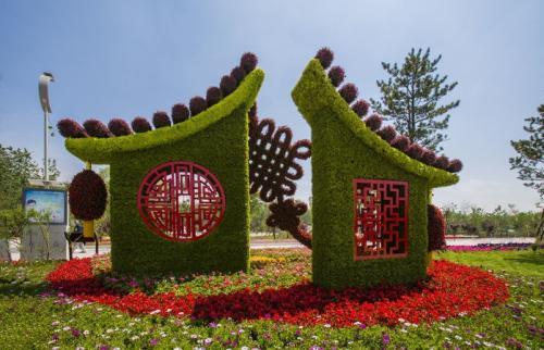 郑州五色草造型公司