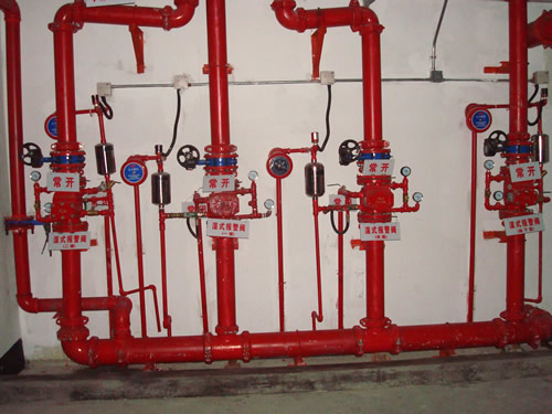 某商场工作进行消防管道安装工程