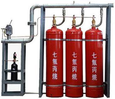 七氟丙烷灭火器 自动气体灭火装置 操作简单