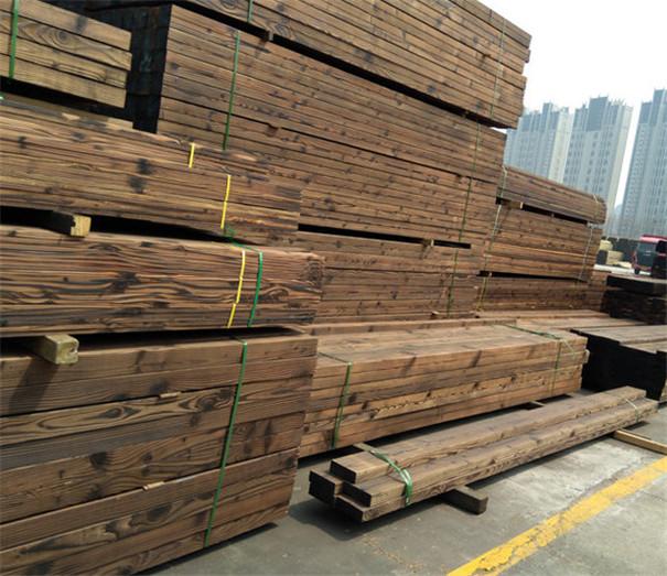 河南炭化木定制_世华耐腐蚀炭化木板生产厂家