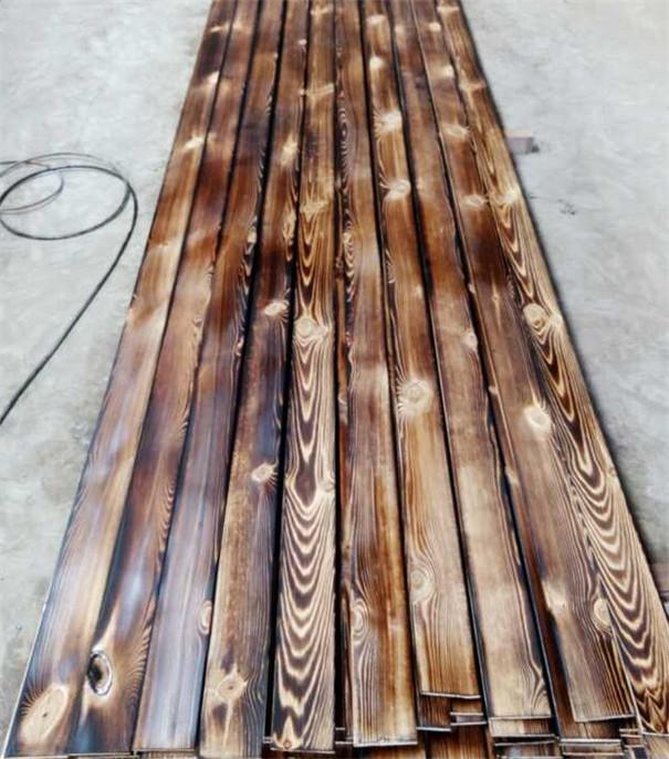河南户外碳化木板_花旗松碳化木材厂家直销批发