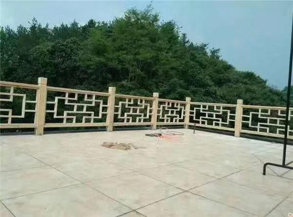 河南世华防腐木景观围栏