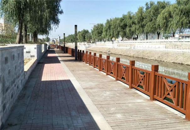 防腐木围栏栏杆