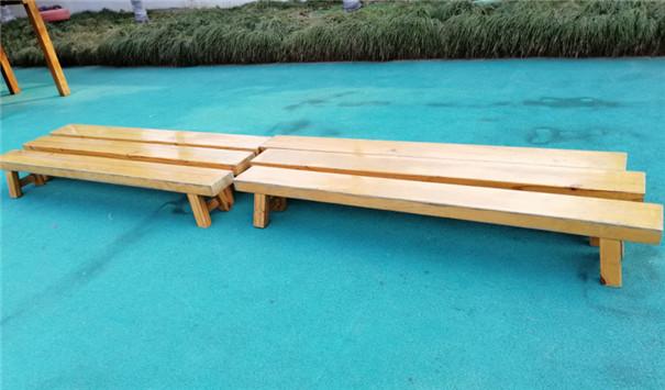 休闲椅防腐木桌椅