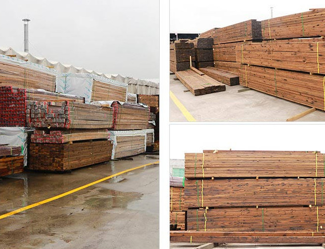 景观碳化木板
