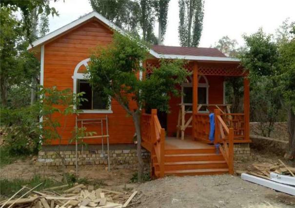 木结构房屋建造