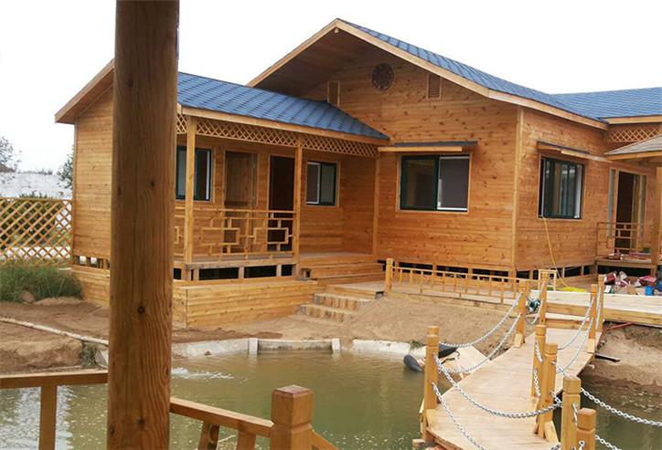 木屋安装中图展示