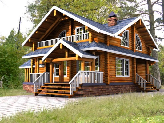 木屋别墅图