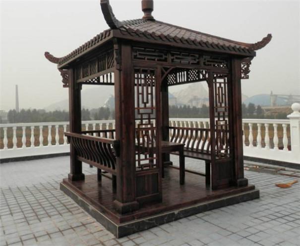 庭院想做一个四角的防腐木材质的凉亭,大概需要多少钱?