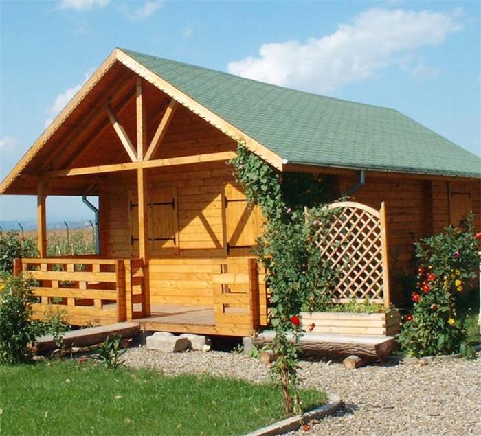 木结构木屋