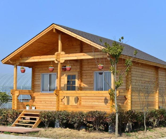 木结构木屋_轻型木屋建造