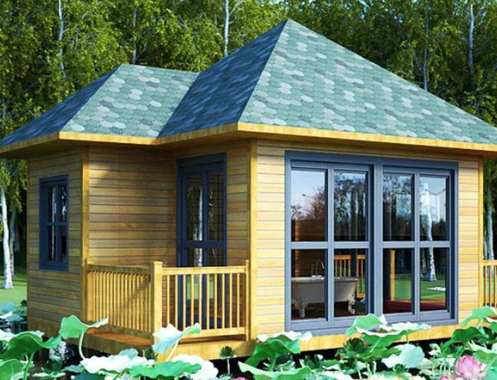 木材建造的木屋