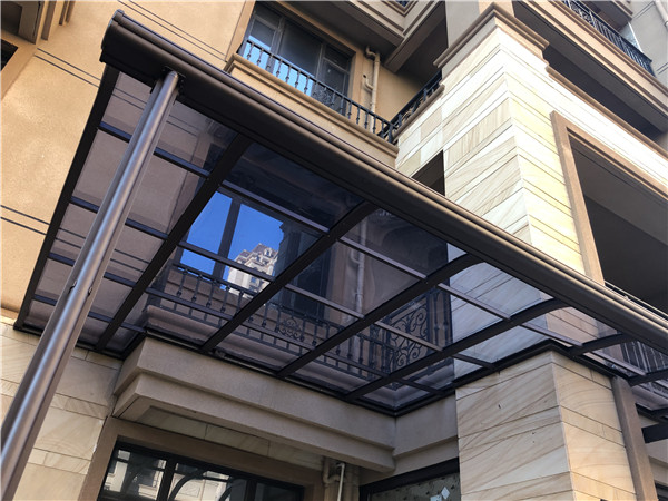 一体式窗棚雨棚案例