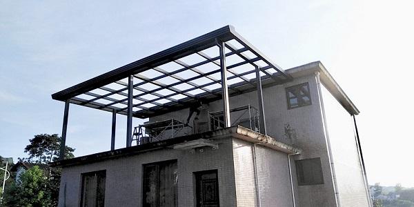 赤壁 A7系列 120大型斜顶阳光房