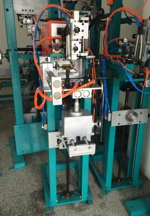 富余气动焊架钻筒水钻齿高频焊机焊架