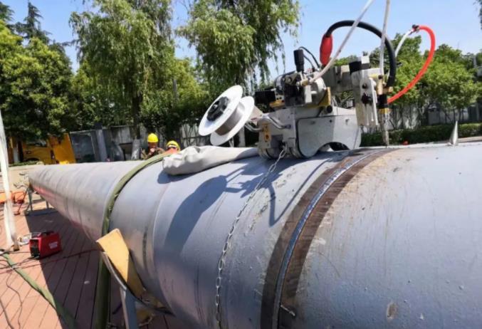 野外自动焊机用什么样的管道自动焊机