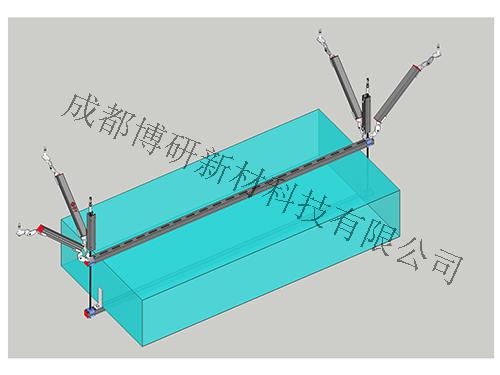 风管双吊式双向支架