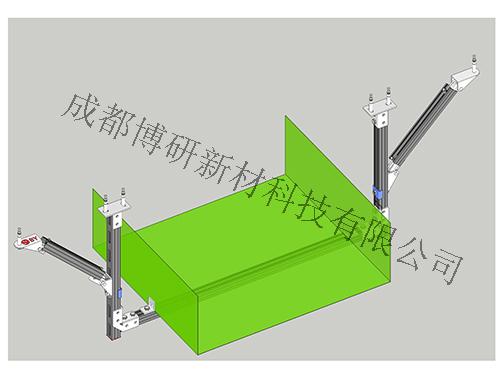四川桥架抗震支架-桥架门式侧向支架