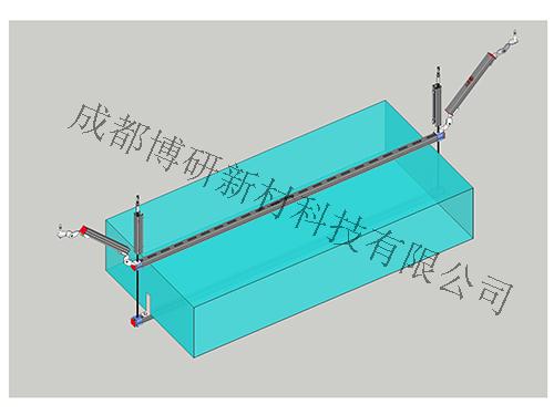风管双吊式侧向支架