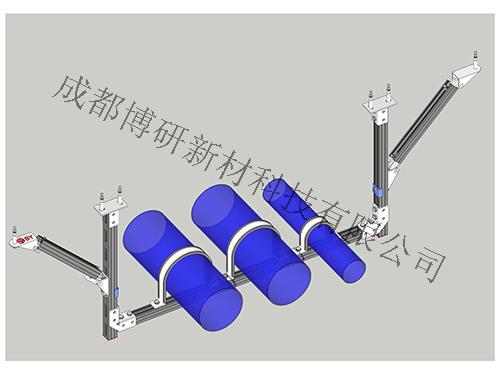 四川抗震支架厂家-水管门式侧向支架