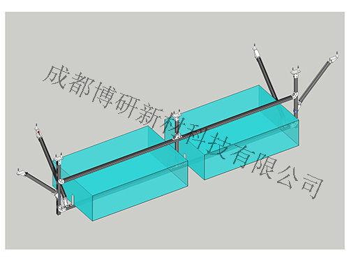 风管门式双向支架