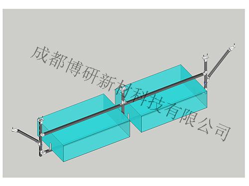 风管门式侧向支架