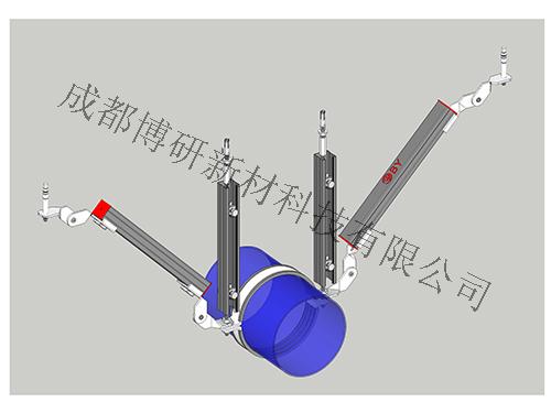 水管双吊式侧向支架S