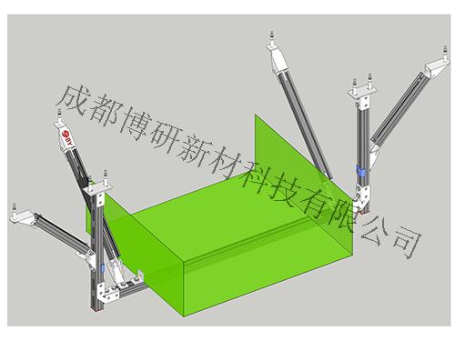 四川抗震支架公司-桥架门式双向支架