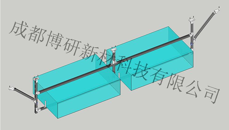 四川风管抗震支架-门式侧向支架