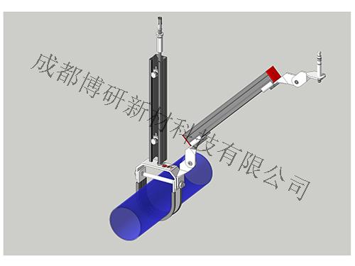四川抗震支架-水管单吊式侧向支架