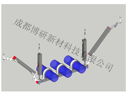水管双吊式侧向支架H