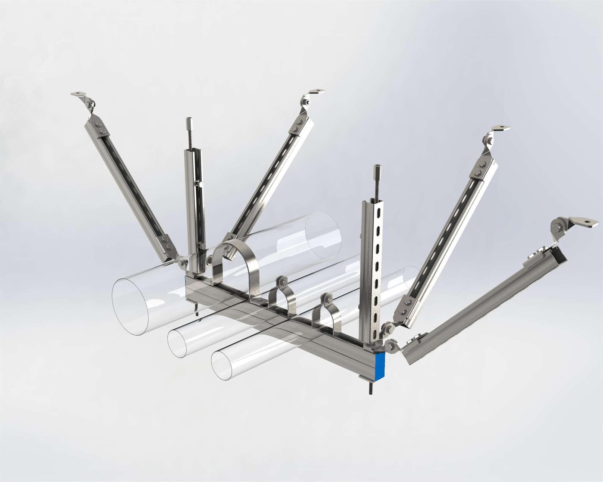 机电安装系统为何要强制配套抗震支吊架?
