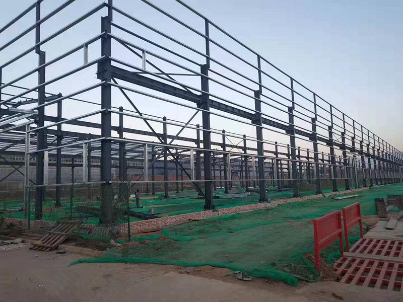 聚龙源实业有限公司钢结构厂房项目
