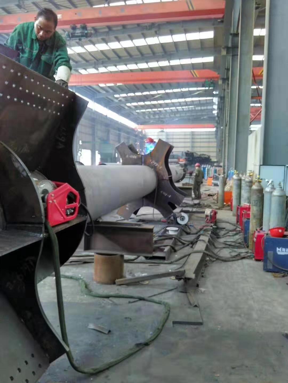 钢结构桥梁生产车间