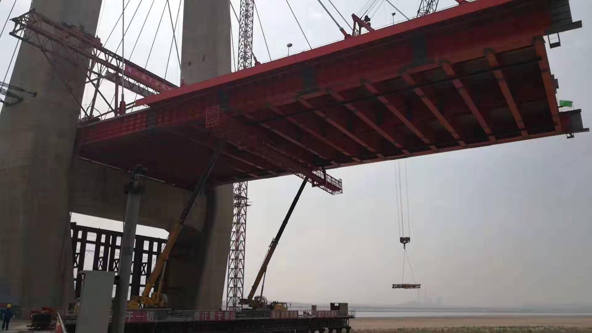 黄河禹门口大桥钢桥梁工程