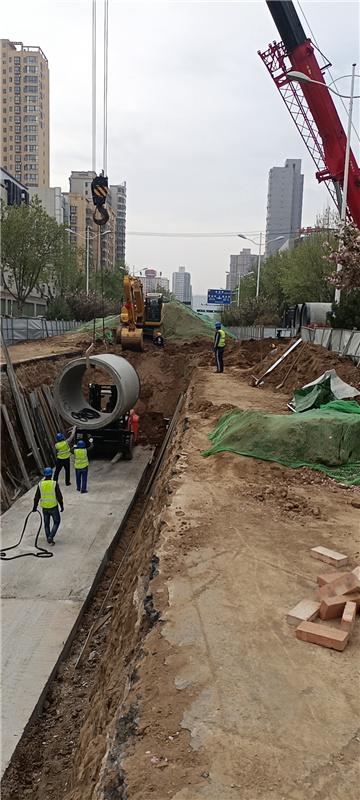 新盛路道路改造工程