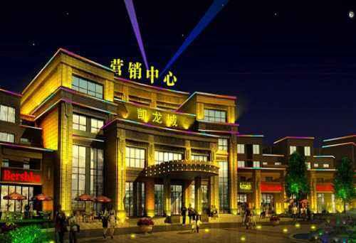 西安亮化工程-步行街LED装饰灯