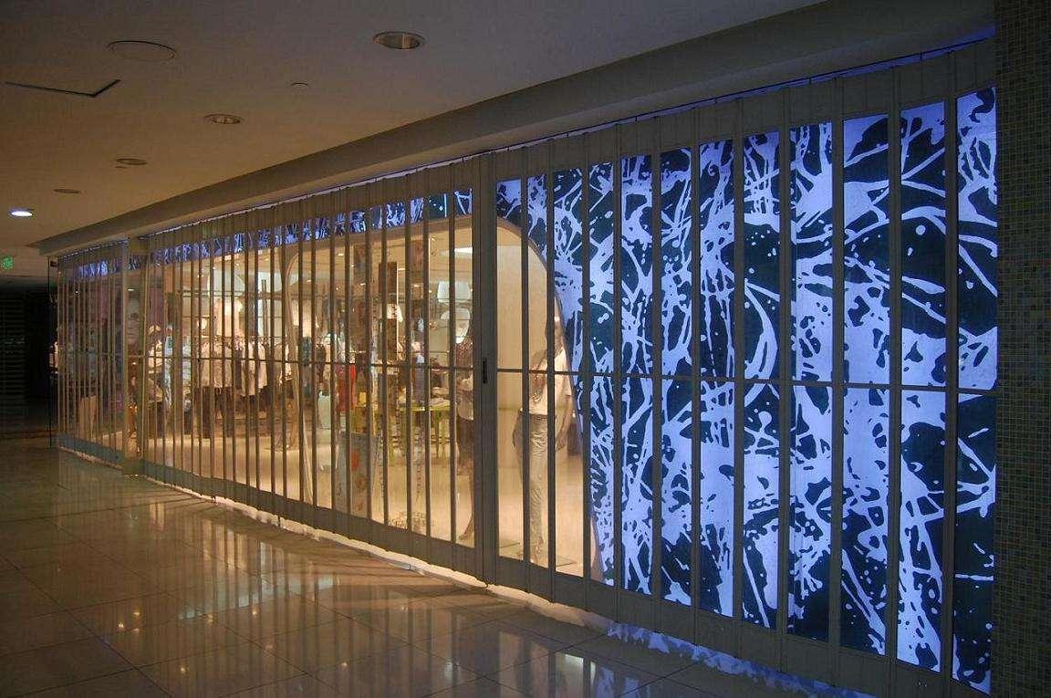 四川水晶折叠门
