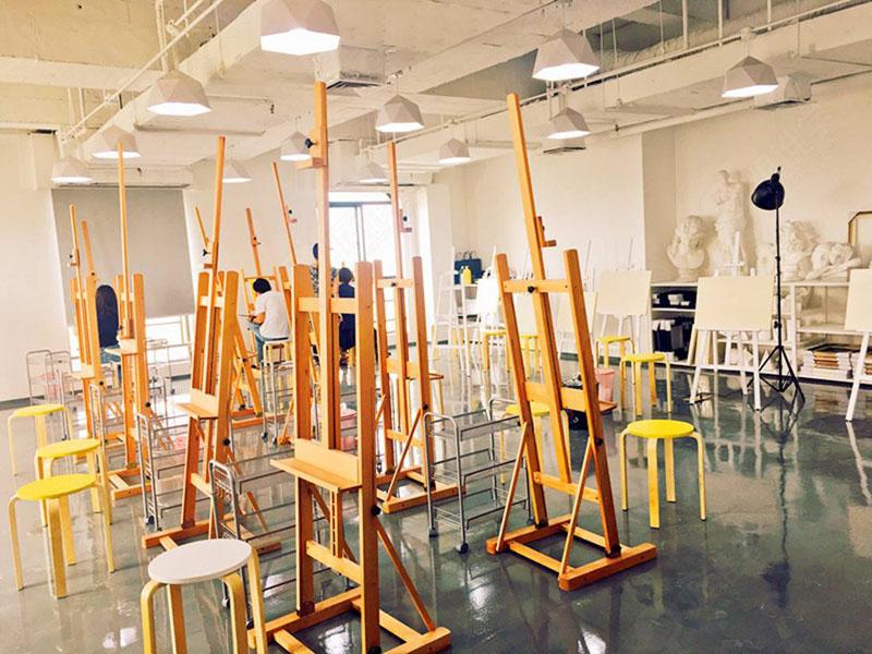 蘭州九州藝術學校畫室