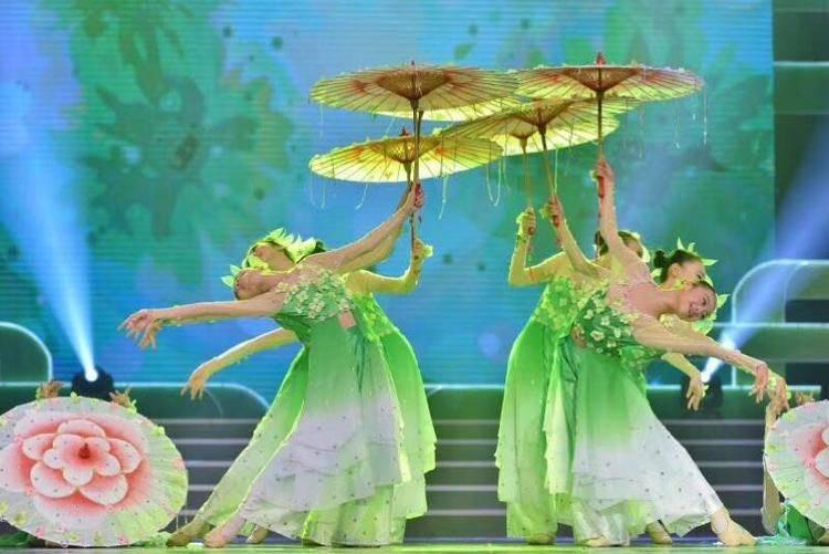 參加甘肅省春節聯歡晚會,獲得金獎