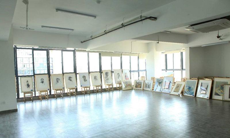 蘭州市九州藝術學校畫室