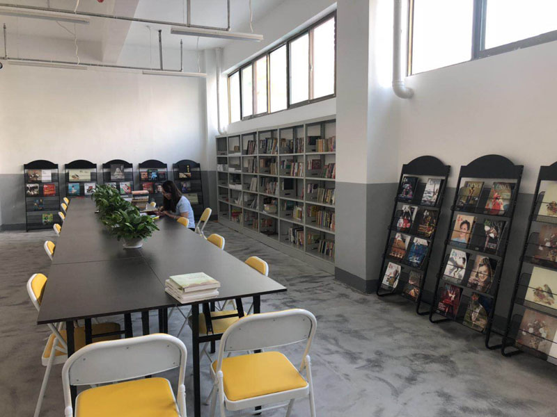 蘭州九州藝術學校閱覽室