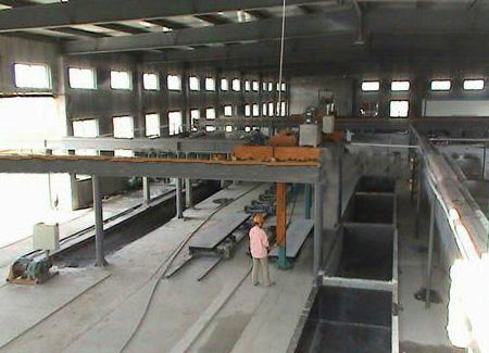 加氣磚隔墻生產區域