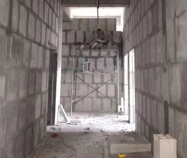 武侯茂业大厦隔墙安装完工展示