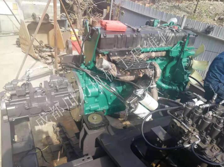 沃尔沃460挖掘机维修案例