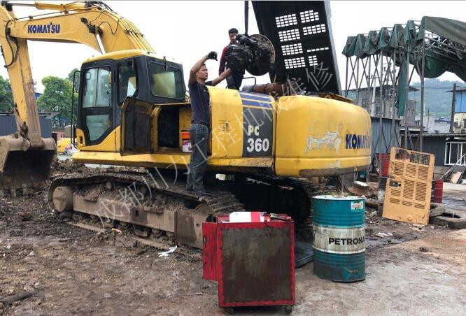 挖掘机维修客户评价