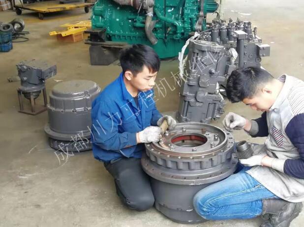 旋挖钻机维修