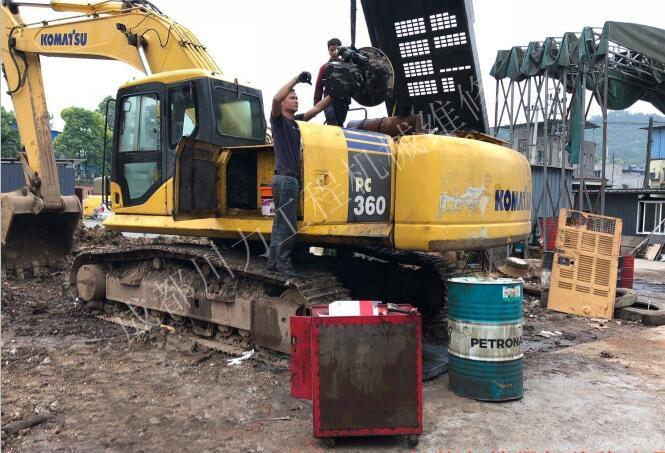 挖掘机启动困难油耗增加