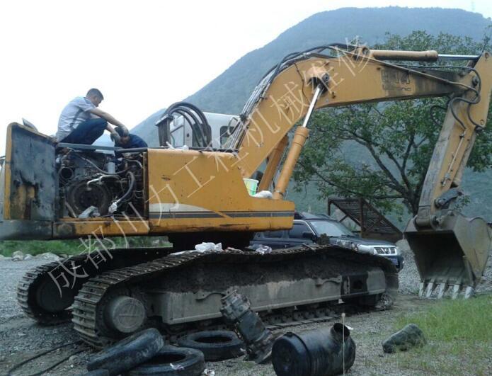 挖掘機啟動不了