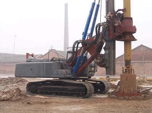 旋挖鉆機維修